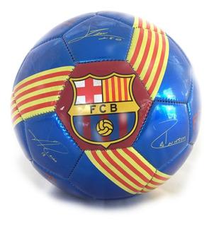 Pelota De Fútbol N°5 Barcelona 22,2 Cm