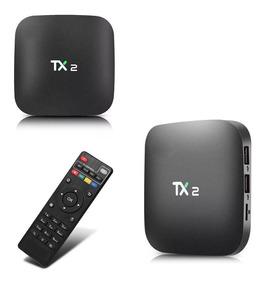 Recetor Tv Box 4k Smart Tv Tx2 16gb 2gb/r Hdmi Wifi Android