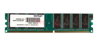 Memoria Ram Dimm Patriot 512mb Ddr1 400mhz Pc-3200 /v /v