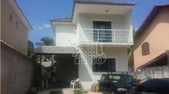 Casa Residencial À Venda, Piratininga, Niterói. - Ca0594
