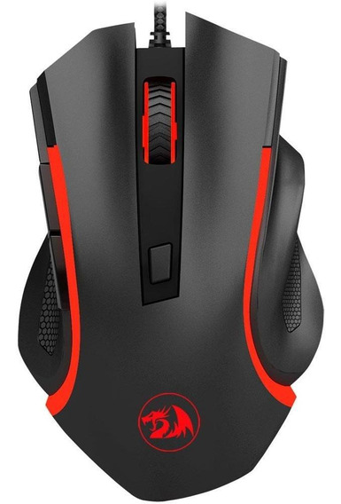 Mouse Gamer Redragon Nothosaur 3200dpi Led 6 Botões M606