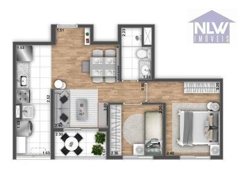 Imagem 1 de 26 de Apartamento Com 2 Dormitórios À Venda, 44 M² Por R$ 398.756,00 - Usina Piratininga - São Paulo/sp - Ap2767