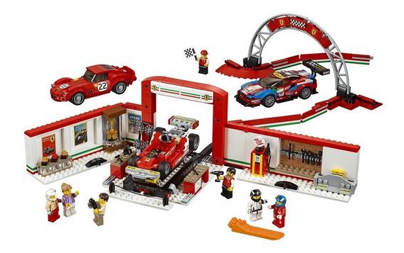 Lego Speed Champions - Garagem Ferrari Ultimate