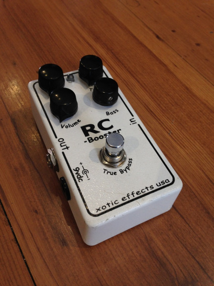Pedal Rc Booster Xotic Effects Usa - Usado