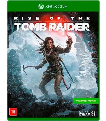 Rise Of The Tomb Raider Xbox One M.física Novo Lacrado
