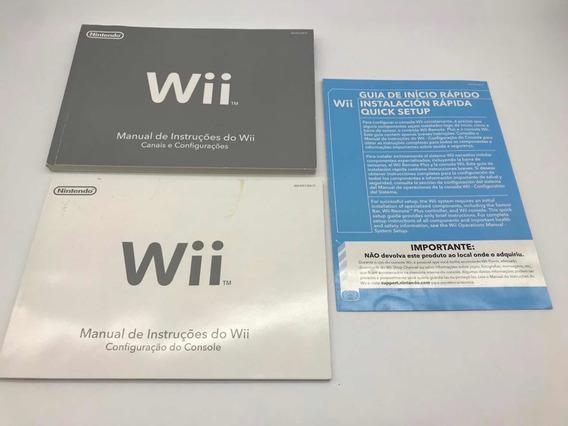 Manuais Nintendo Wii