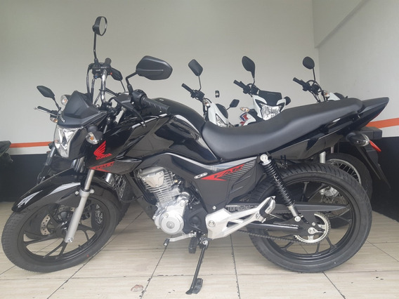 Honda - Cg 160 Fan Flex Zera Km 2019 - 2020 Preta
