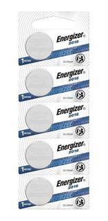 5 Pilas Energizer Cr2016 Litio 3v Alarmas Controles Autos