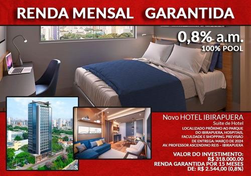 Flat Para Investimento Com Grande Rentabilidade Próximo Ao Parque Do Ibirapuera. - Sf33859