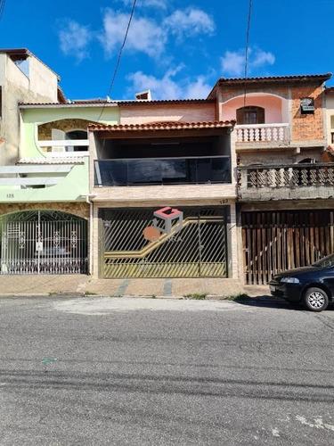 Sobrado À Venda, 3 Quartos, 1 Suíte, 2 Vagas, Gerassi - Santo André/sp - 101471
