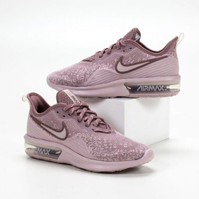 Promoção Fim Estoque- Tênis Nike Air Max Sequent 4 Rose