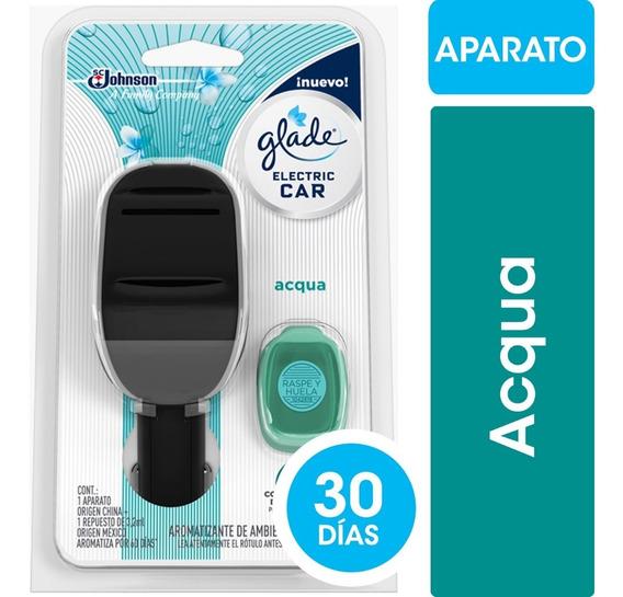 Glade Electric Car Acqua +rep Auto Nuevo+rep Brisa Tropical
