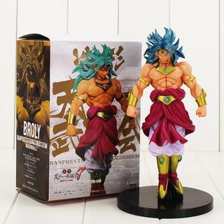 Dragon Ball Z Broly Super Sayajin Figura De Ação Com 21 Cm