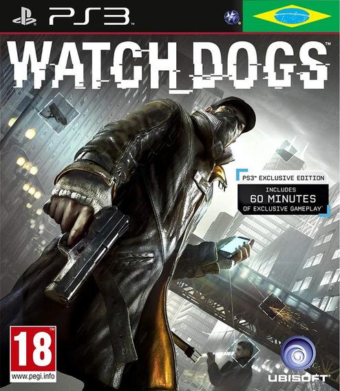 Watch Dogs Ps3 Psn Dublado Game Play 3 Watch Dogs Promoção