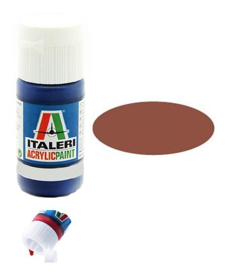 Tinta Acrílica Medium Brown [f] Fs30111 4306ap 20ml Italeri