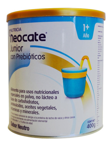 F.i Neocate Junior 1 Año Neutro X 400gr