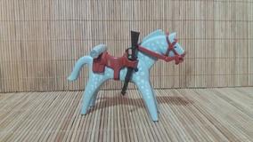 Lote 5138 - Cavalo Cinza E Branco - Montarias Do Velho Oeste