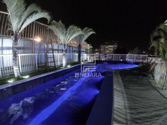 Flat Com 1 Quarto Para Alugar, 32 M² Por R$ 2.850/mês - Lapa - Rio De Janeiro/rj - Fl0006