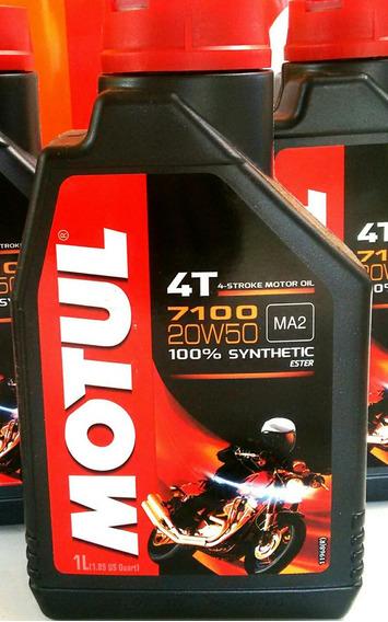 Motul 7100 20w50 4t 100% Sintetico ( Ktm,dd,bmw,ducati)