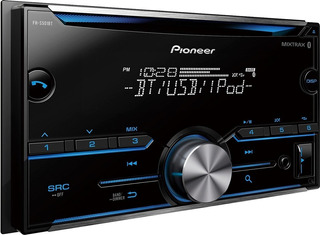 Radio Reproductor 2 Din Pioneer Fh-s51bt Bt Usb 80d S/caja