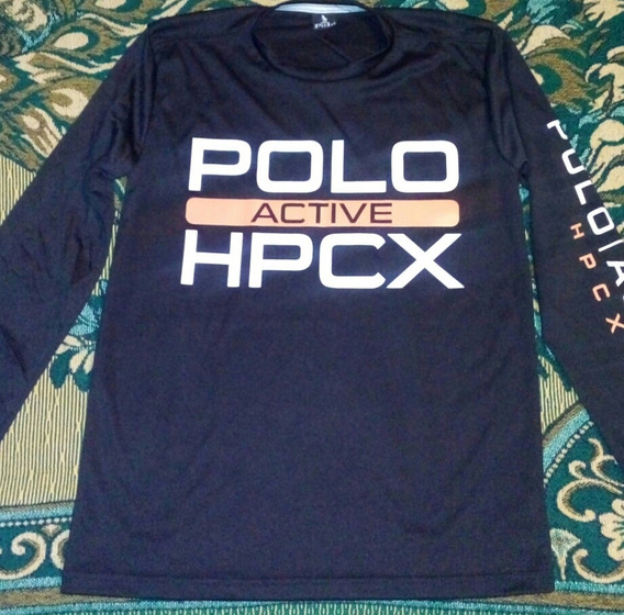 Elegante Playera Hpc Polo Active
