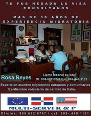 Asesores Perdón Migratorio (waiver), Denegación Consular, Rd