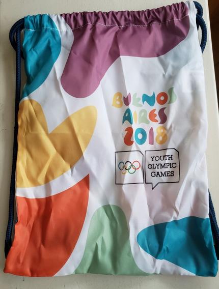 Mochila Juegos Olímpicos De Juventud Buenos Aires 2018