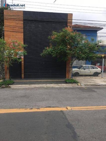 Galpão À Venda, 130 M² Por R$ 1.200.000 - Vila Leopoldina - São Paulo/sp - Ga0082