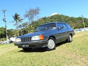 Chevrolet/gm Caravan Diplomata Placa Preta De Coleção