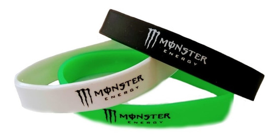 Pulsera De Silicon Monster