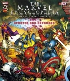 The Marvel Encyclopedia 2010 (enciclopédia Marvel Em Inglês)