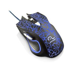 Mouse Gamer Multilaser 6 Botões 4 Cores Led 2400 Dpi Mo250