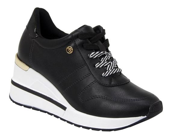 Tênis Sneaker Via Marte Preto/branco (100% Original) Com Nota Fiscal