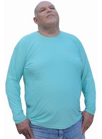 Camisa Uv Proteção Solar Fps 50+tamanhos Especiais Xgg A Egg