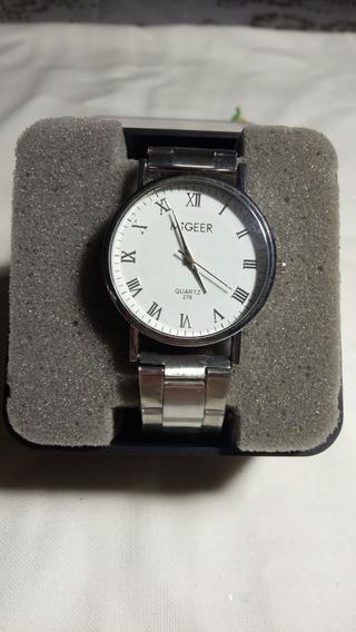 Relógio Aço Inoxidável De Quartzo Masculino (barato)
