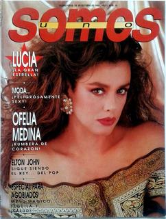 Somos Lucia Mendez Elton John Ofelia Medina Cine Tequila