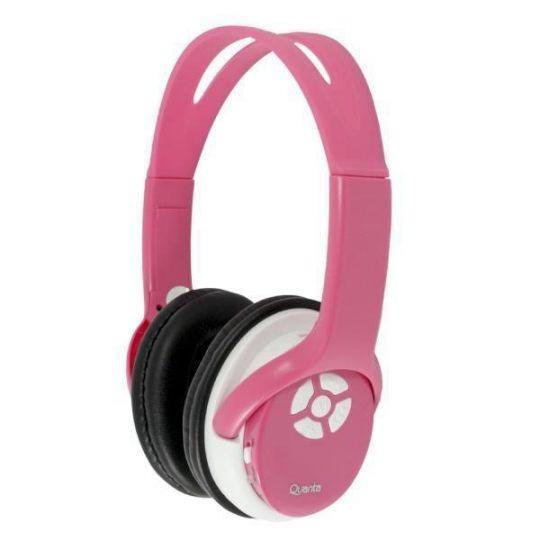 Fone De Ouvido Mp3 Headphone Quanta Qt 53 Rosa