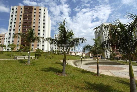 Apartamento Com 3 Dormitórios Para Alugar, 75 M² Por R$ 1.400,00/mês - Parque Residencial Eloy Chaves - Jundiaí/sp - Ap3787
