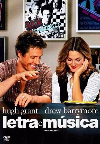 Imagem 1 de 6 de Dvd Letra E Música Hugh Grant Drew Barrymore