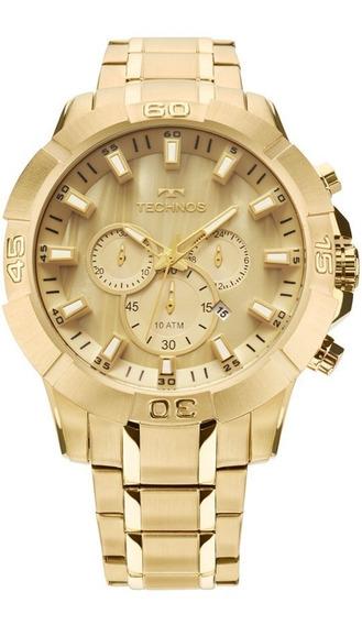 Relógio Technos Masculino Legacy Dourado Js26ae/4x Promoção