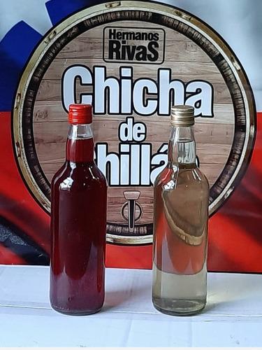 Chicha Rosada Botella 3/4 De Chillan