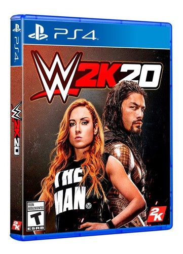 Wwe 2k20 Ps4 - W2k20 Ps4 Disponible ...!!