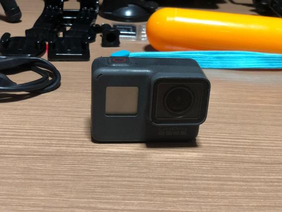 Gopro Hero 5 Black + Kit Acessórios + Cartão De Memória