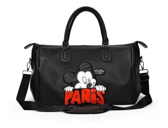 Bolso De Viaje Mickey Maxi