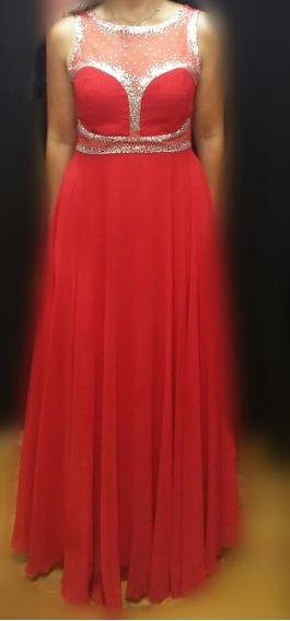 Vestido De Noche, Gala, Elegante Largo