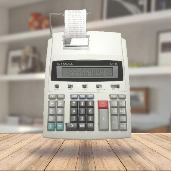 Calculadora De Impressão Procalc Lp45 12 Dígitos Bivolt