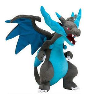 Peluche Mega Charizard X Pokemon Game Freak Nintendo 25 Cms
