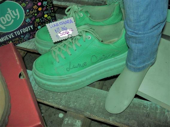 Zapatillas Luna Chiara N 36 Impecables