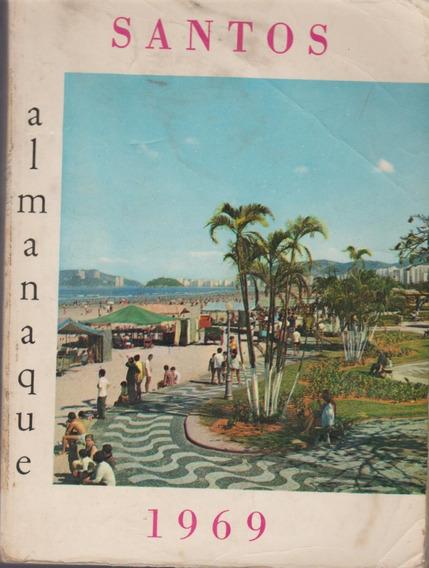 Livro Almanaque De Santos 1969 Olão Rodrigues