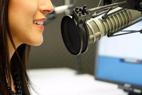 Gravação De Vinheta Voz Feminina Propaganda Radio Som
